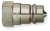 Quick Coupler,Nipple,3/4 In NPT -- 2F549