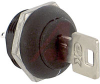 Switch, Keylock; Low Profile; SP; 250VAC; 2A; Keypull POS 1, 2; Solder lug -- 70128613 - Image