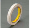 3M Scotch 690 White Color Coding Bag/Packaging Tape - 12 mm Width x 66 m Length - 2.3 mil Thick - 61655 -- 021200-61655