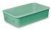 Fiberglass Nest Container,D 11 7/8,Green -- 3EVF1