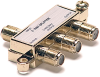 3 Way 900MHz F Splitter Gold -- 90-10113 - Image