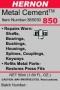 Metal Cement -- 850
