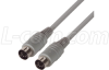 Molded Cable, DIN 5 Male / Male, 6.0 ft -- DK225MM-6