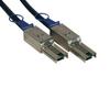 External SAS Cable, 4 Lane - mini-SAS (SFF-8088) to mini-SAS (SFF-8088), 1M (3-ft.) -- S524-01M - Image