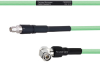 Temperature Conditioned Low Loss SMA Male to RA TNC Male Cable LL335i Coax in 18 Inch -- FMHR0228-18 -Image