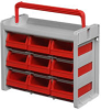 Carry box with 9 bins 9075 -- 9050.000 - Image
