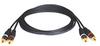 Audio Cables (2 x RCA M/M) 6-ft. -- A050-012