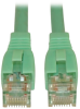 Augmented Cat6 (Cat6a) Snagless 10G Certified Patch Cable, (RJ45 M/M) - Aqua, 10-ft. -- N261-010-AQ - Image