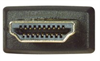 High Speed HDMI® Cable with Ethernet, Male/ Panel Mount Female 4.0 M -- PMHDMF-4 -Image