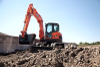 Doosan DX85R-3 Crawler Excavator - Image