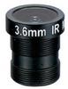 3.6mm 1 Megapixel Fixed Iris F1.8 1/3