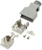 D-Sub, D-Shaped Connectors - Backshells, Hoods -- 10314-3210-003-ND - Image