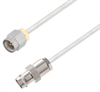 BNC Female to SMA Male Cable Assembly using LC085TB Coax, 3 FT -- LCCA30532-FT3 -Image