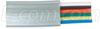 6 Conductor Flat Modular Cord (PVC), 500 ft Spool -- TDB6-500 - Image