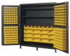 """Heavy-Duty All-Welded Storage Cabinets - 72"""" Wide - QSC-72S - Image"""