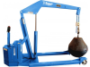 Standard Straddle Full Powered Floor Cranes -- FP-3D