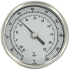 Long Reach Bimetal Thermometer -- Series BTLRN