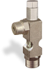 "(Formerly B1628-10X01), Angle Small Sight Feed Valve, 1/4"" Male NPT Inlet, 1/4"" Female NPT Outlet, Tamperproof -- B1628-143B1TW -- View Larger Image"
