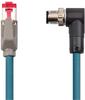 Ex I/O M12-RJ45 EtherNet/IP cable,40m -- 1718-E4UBJM-40 -Image