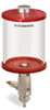 Red Color Key, Clear View Full Flow Manual Dispenser, 1 qt Acrylic Reservoir -- B5165-032ABRW -- View Larger Image