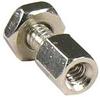 D-Sub Hex Head Screw w/ Nut 4-40 UNC, 100pcs. -- 273134 - Image