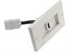 1 Port HDMI Wall Plate w/ 4