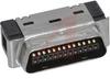 .050 Mini D Ribbon (MDR) 26 Pos. IDC Wiremount Plug-Shielded -- 70114230 - Image