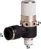 Base Ejector for Solenoid Valve Robotic Gripping Applications -- EBA