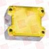 PFANNENBERG 21510103055 ( COMPACT FLASHING XENON STROBE BEACON, 1 HZ, 5 JOULES, 187 - 255 VAC, GREY HOUSING, YELLOW LENS ) -Image