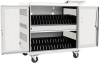 32-Device USB Charging Station Cart with Sync for iPad and Android Tablets, Wall-Mount Option, White -- CSC32USBW