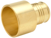 XL Brass Sweat Adapter - 1-1/2
