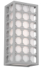 Gray Outdoor Wall Light -- L6RX(Forecast F857610)