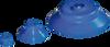 Temperature-resistant Flat Vacuum Cups Made of Thermalon® -- SKT-F