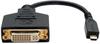 Micro HDMI (Type D) to DVI-D Adapter (M/F), 6-in. -- P132-06N-MICRO