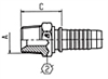 Inserts for Two-Piece Fittings - US End Configurations
