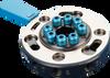 Round Quick-changer Ø 90 mm, 8 Air Inlets, Robot Side