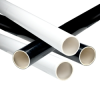 Black & White PVC Furniture Pipe -- 28646