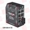 BLACK BOX CORP LBH150AE-H-SSC ( HARDENED HEAVY-DUTY EDGE SWITCH, (5) 10/100 COPPER + (1) FIBER PORTS, SINGLE-MODE, 100–240-VAC WITH IEC, SC ) -Image