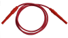 Retractable Shrouded Banana Plug Jumper, 18 AWG PVC Test Lead -- 9871 -Image