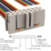 Rectangular Cable Assemblies -- M1TXK-1436R-ND -Image