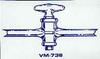 Straight Bore Glass Stopcock -- VM736-02