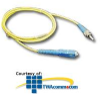 ICC Singlemode Fiber Optic Patch Cord - SC / ST -- ICFOJ9C401
