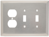 Combination Wall Plate -- SSO28 - Image