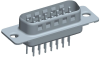 Input-Output Connectors, D-Subminiature, D-Sub High Performance, Durability (Mating cycles)=High Perf (//500 Mating Cycles) -- DAP15P365TXLF - Image