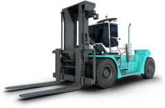 Forklift trucks by Konecranes are built to get the job done as efficiently and cost-effectively as possible.