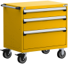 Heavy-Duty Mobile Cabinet, with Partitions -- R5BEE-3021 -Image