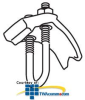 """Erico Pipe-To-Beam Clamps, 3/8"""" to 4"""" Diameter.. -- RA0037HD -- View Larger Image"""