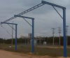 Tether Track™ Fall Arrest: Free Standing Monorail System