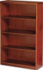 MIRA SERIES WOOD VENEER 4-SHELF BOOKCASE, 34¾W X 12D X 68H, MEDIUM CHERRY -- 10123744