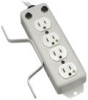 Tripp Lite Medical-Grade Power Strip w/4 Output Connectors -- PS410HGOEMX